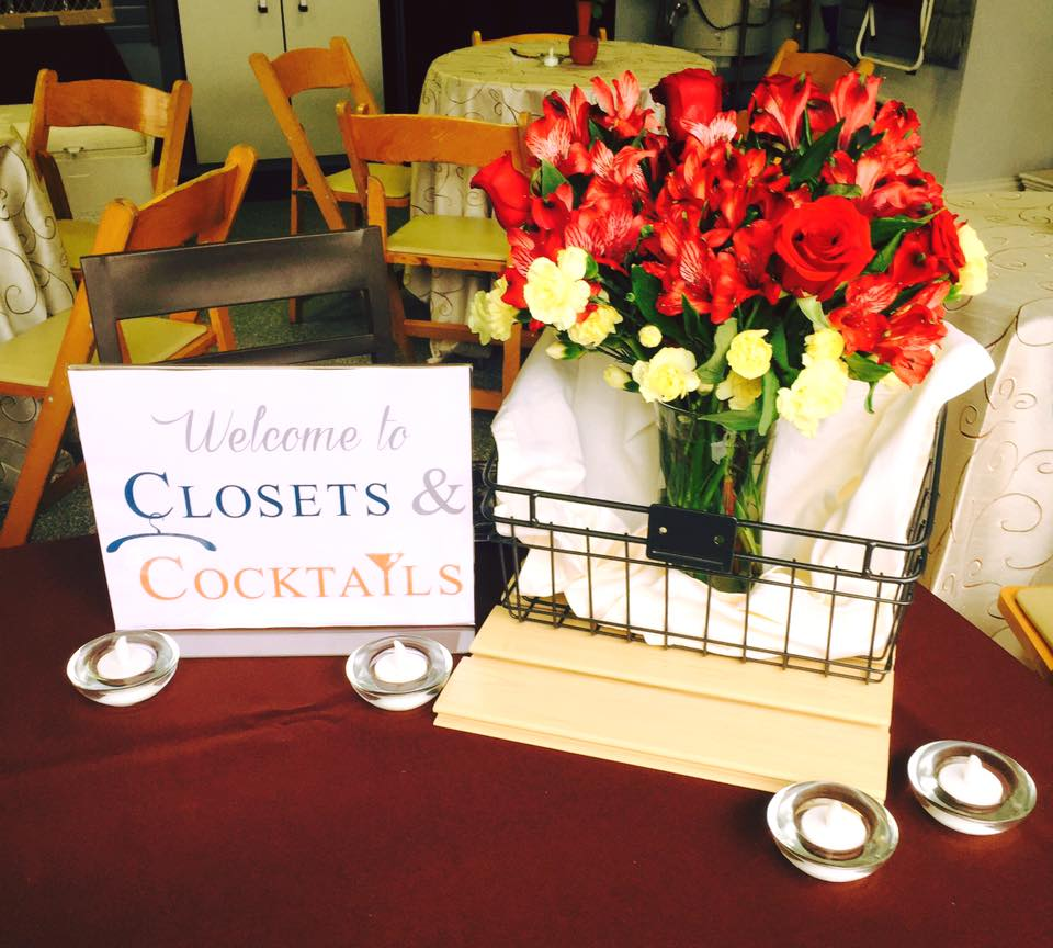 Our Open House: Closets & Cocktails