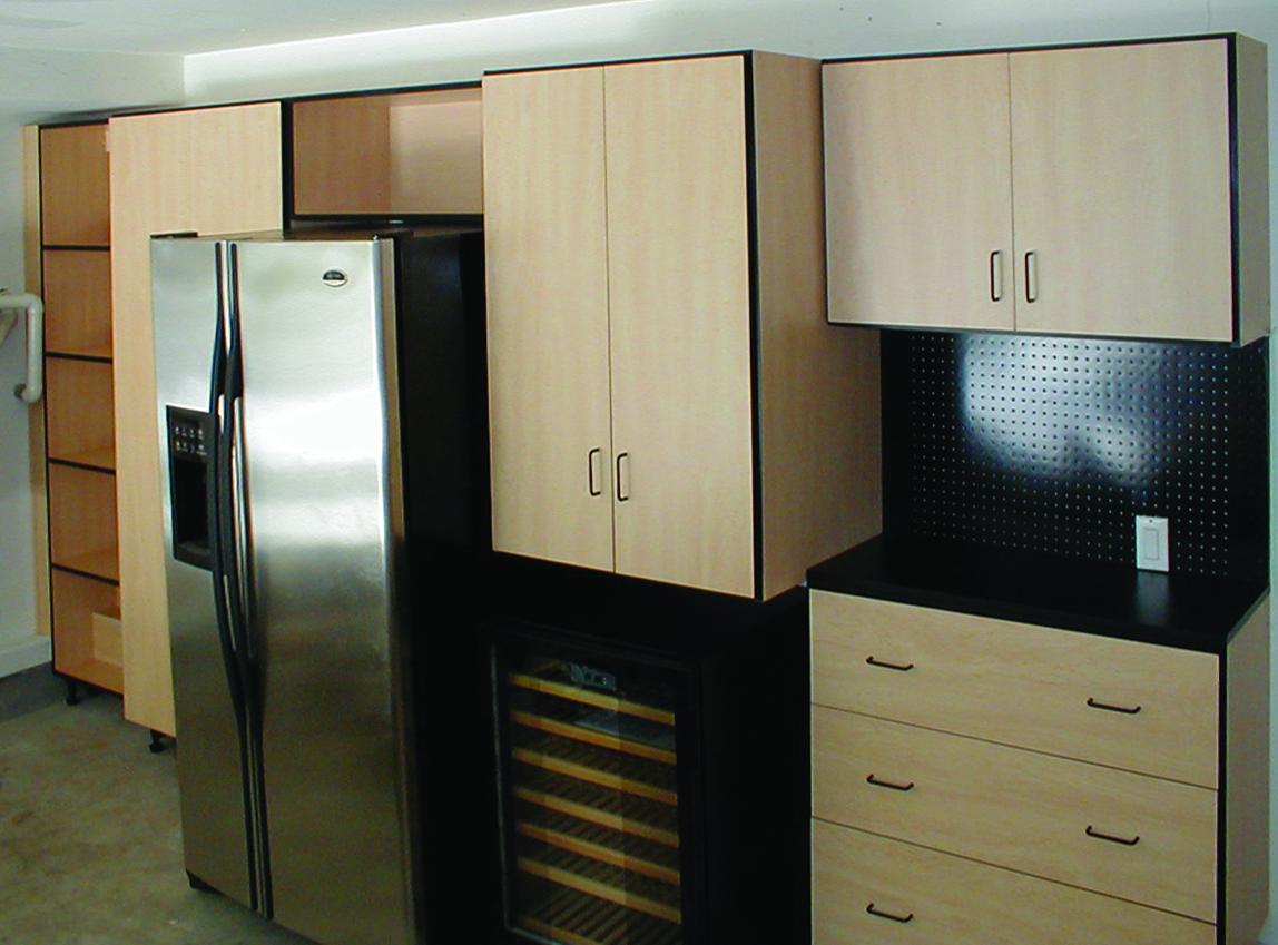 garage closet organization