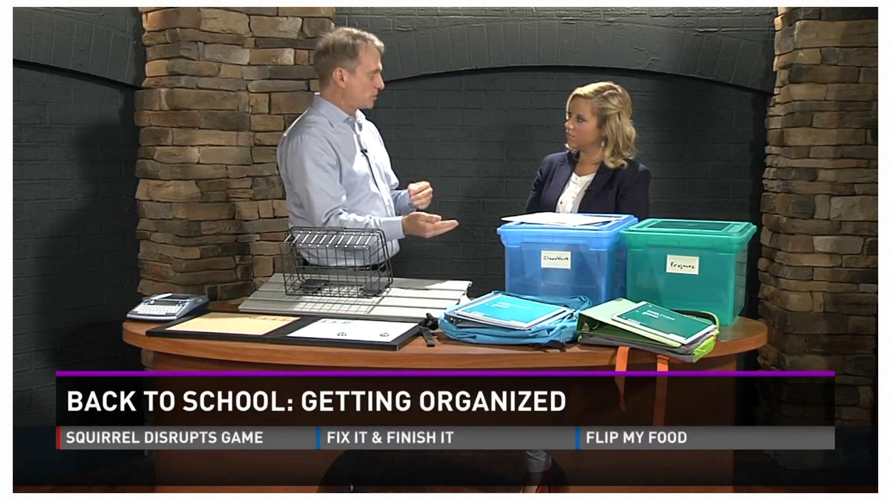 Back to School: Getting Organized