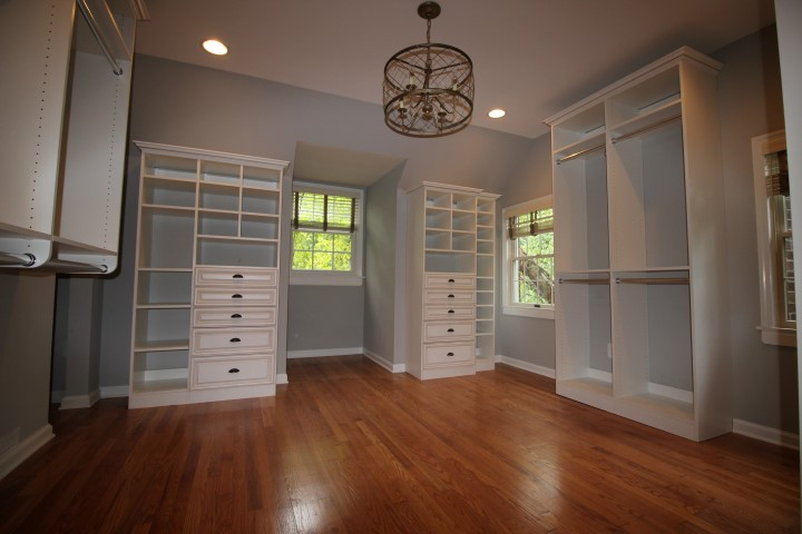 Spare Room now Dream Master Closet