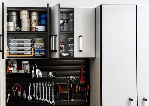 Garage Custom Cabinets